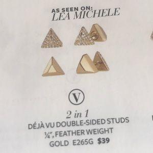 Déjà Vu Double-sided Studs-Versatile